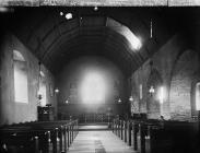interior of the church, Cynwyl Gaeo