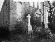 Gravestone of Williams Thomas (Gwilym Marles) ...