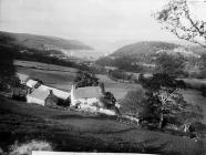 dam with the village in its shadows, Llanwddyn