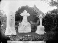 Grave of the Marquis of Londonderry and family,...