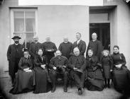 bishop and clergy at Maenclochog