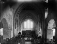 interior of the church, Tywyn