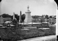 David Roberts' monument in Abergele cemetary