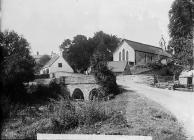 church and the bridge, Nantglyn