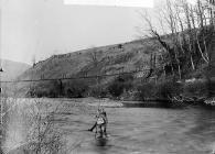 Pysgota ar Afon Teifi, Llandysul (Cer)