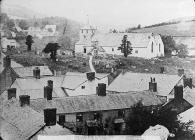 old church, Llanfair Caereinion