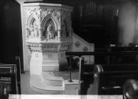 Puplit in the William Williams memorial chapel,...