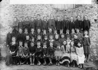 Standard 4 and 5 pupils of the British school,...