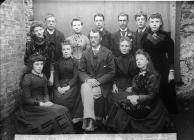 Teachers of the British school, Llanymddyfri