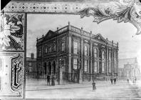 Fitzclarence St chapel (CM), Liverpool (print)
