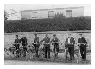 Cyclists, Narberth, c.1885