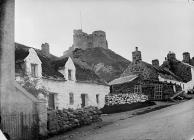 castle, Cricieth