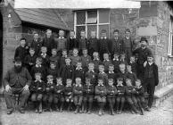 Boys, Tywyn school (1890)