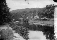 On the banks of Afon Elwy, Llanfair Talhaearn