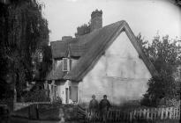 Thatched house, Pontesbury (Salop)