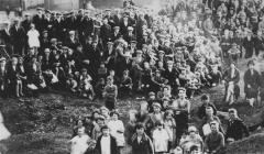 A Labour meeting at Cwmavon 1929