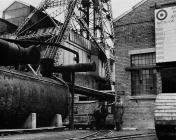 The last pony to work at Bersham Colliery, near...