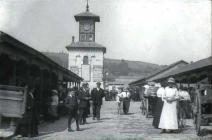 Carmarthen market, 1928
