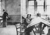 The Reading Room, Oakdale Institute about 1946