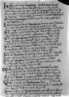Page from the Domesday book manuscripts