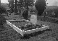 A grave in St Cannen's church cemetry