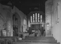 Interior of St. Cadmarch's church,...
