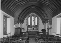 Interior of unidentified church