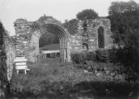 Remains of Strata Florida Abbey