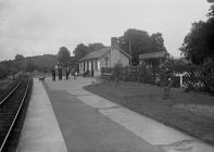 Glasbury railway station