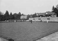 Pavilion and bowling green, Llandrindod