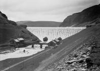 Caban Coch dam, Elan Valley