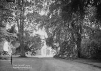 The drive, Clungunford Hall