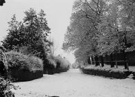 Leintwardine in the snow