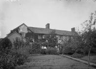 Bucknell House and orchard