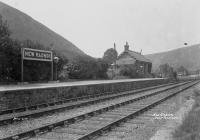 The station New Radnor