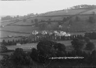 Knighton cricket ground (from Kinsley Hill)