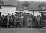 Presentation to a lady golfer, Builth Wells