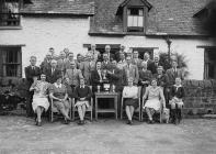 Presentation of golfing trophies, Builth Wells...