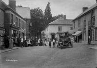 Clun market place