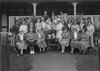 Group of women outside Llandrindod Wells Golf...