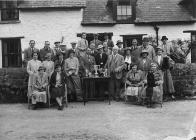 Presentation of a trophy to a member of Builth...