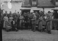 Presentation to a lady golfer, Builth Wells...
