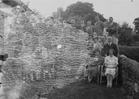 Group of people, Builth Wells Golf Club