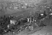 Bargoed Colliery and surrounding area