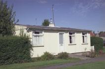 Blaen pre-fab rhif 14 - Llandinam Crescent, Gabalfa, Caerdydd
