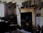 Inside the 1955 Rhyd-y-car row of houses - lounge