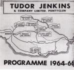 Advertisement for Tudor Jenkins Pontyclun