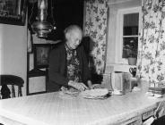 Bara Ceirch, Cwm hesgen, Llanfachreth 1963, Mrs Jane Jones