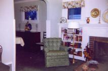 Lounge in house, 1960s