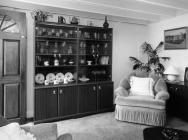 Inside Rhyd-y-car 1980s house, St Fagans - lounge